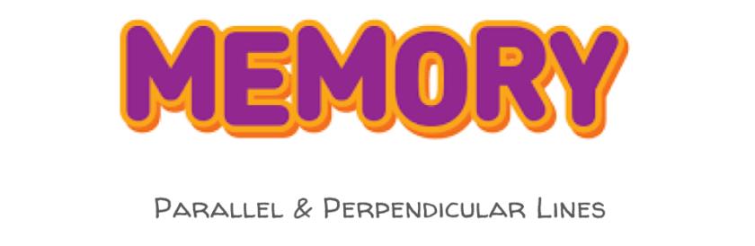 Parallel & Perpendicular Memory Game (2)