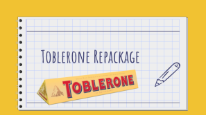 Toblerone Repackage