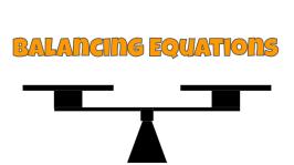 Balancing Equations MMNS